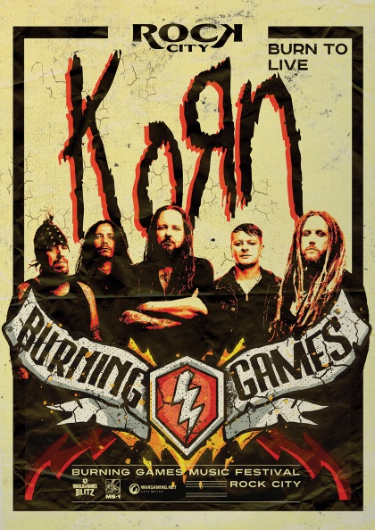 WoTB Burning Games Korn Poster C