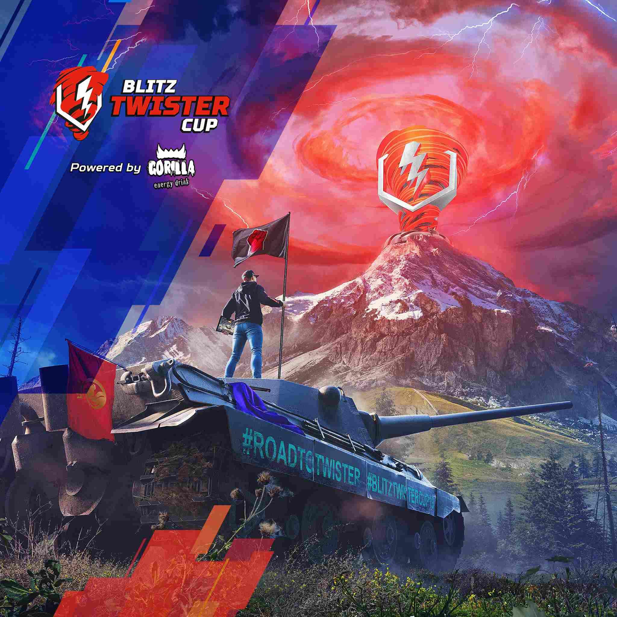 WoTBlitz Twister Cup 2019 Artwork Mail