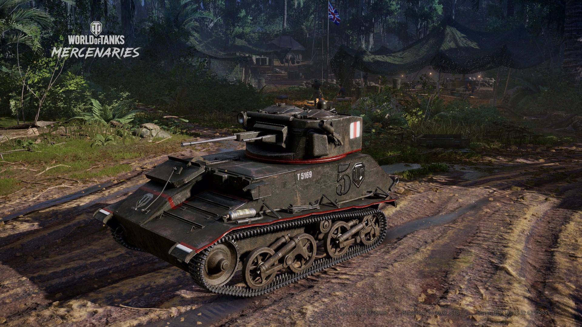 WoTMercenaries Steadfast(Tier II-LightTank) Screenshot1