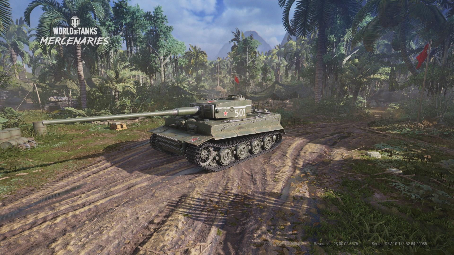 WoTMercenaries T-VI-100(Tier VII-Heavy) Screenshot1