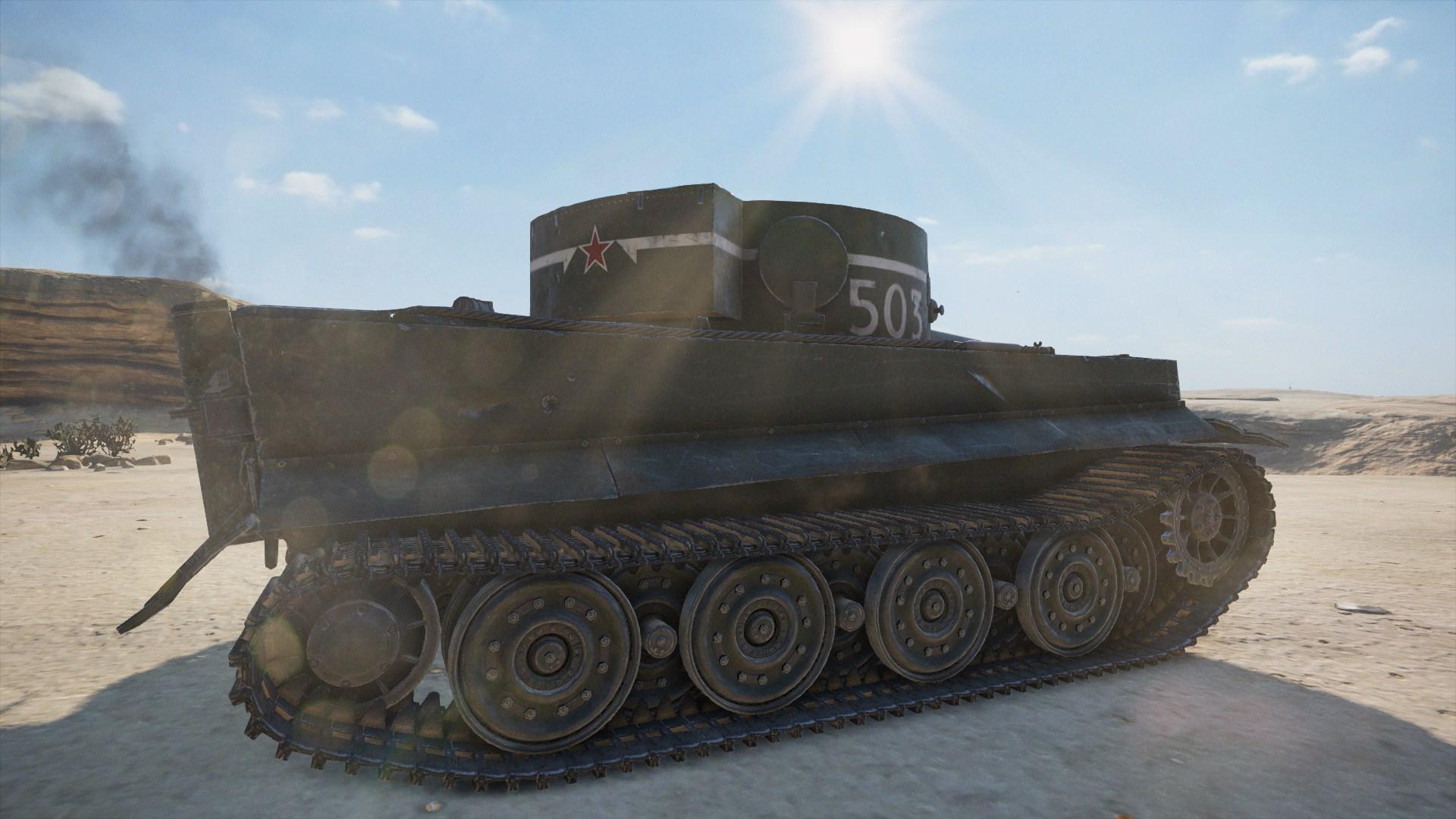 WoTMercenaries T-VI-100(Tier VII-Heavy) Screenshot3