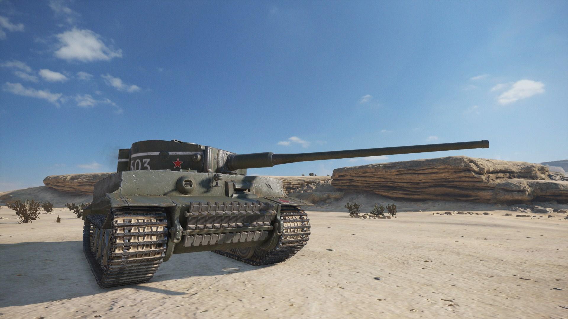 WoTMercenaries T-VI-100(Tier VII-Heavy) Screenshot4