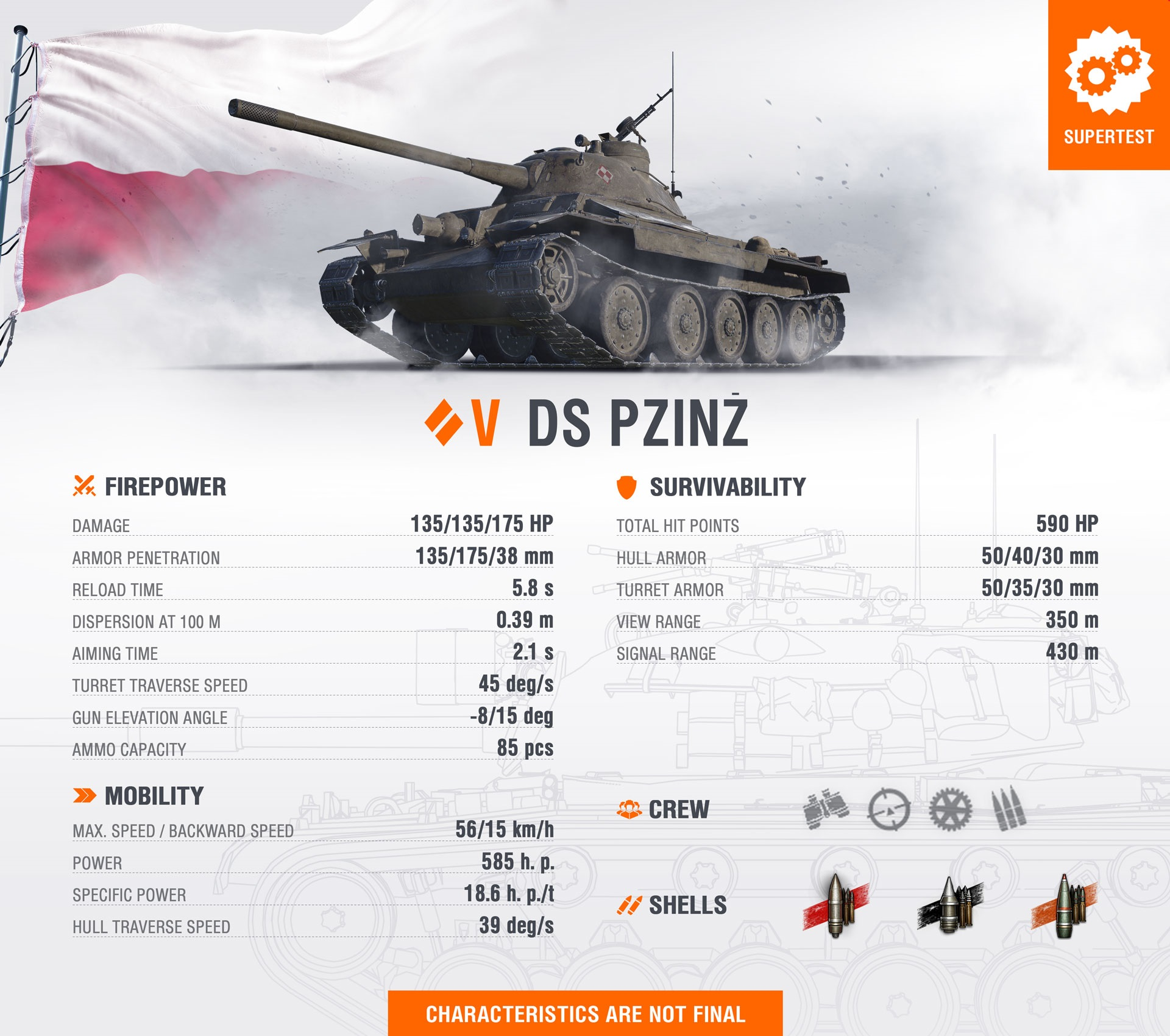 WoT Template New Tank DS PZInz EN