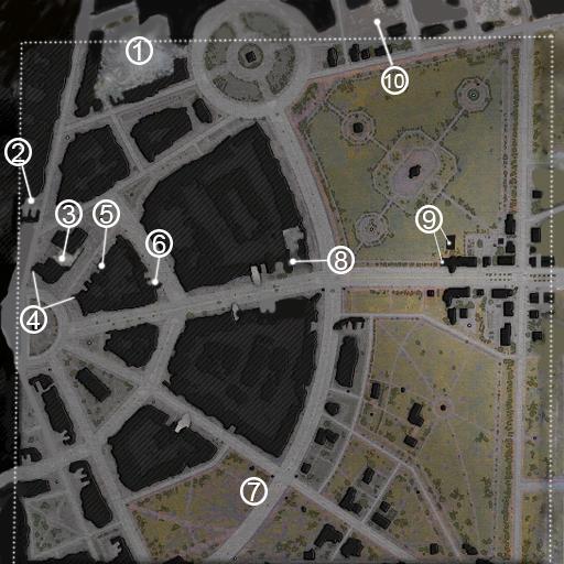 Minimap Ruinberg