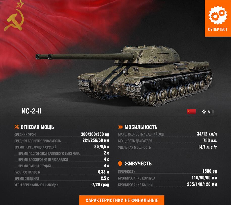 Portal New Tanks Is-2-ii Grey
