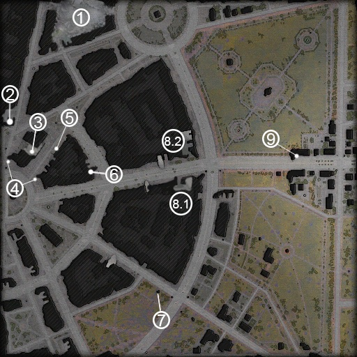 Ruinberg Mini Map