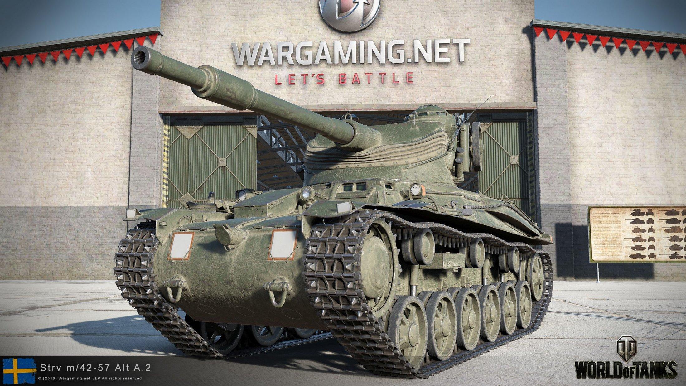 Strv M42-57 Alt A2 2