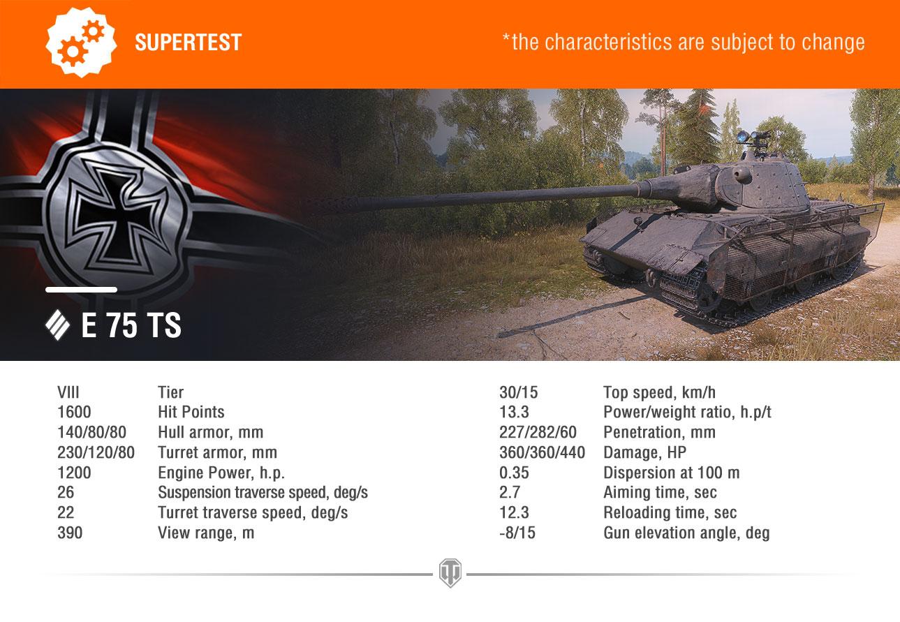 Supertest-E75 TS EN